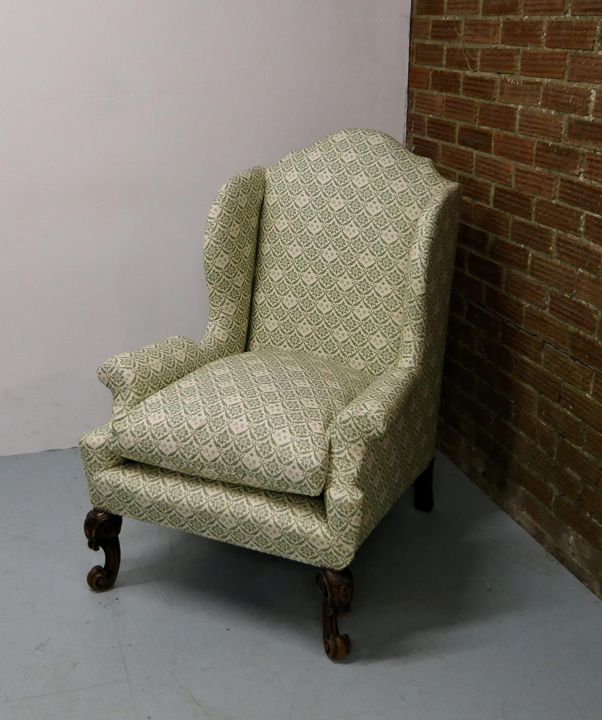 Howard Bridgewater Wing Chair
