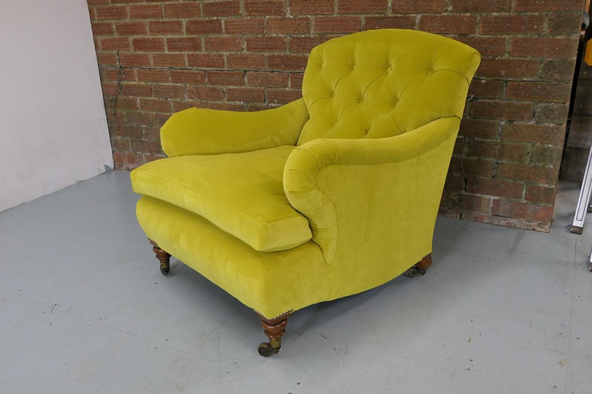 Howard Button Back Armchair