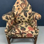Gorgeous gothic chair in Lewis and Wood tree of life Fabric